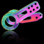 Tow Hook FR/RR Set :: NEO Chrome